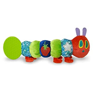 The Very Hungry Caterpillar Teether Rattle, by Rainbow Designs 8