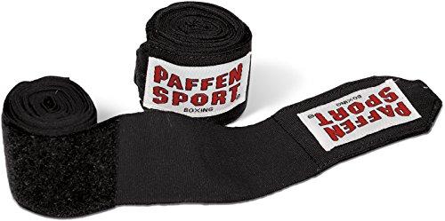 Paffen Sport ALLROUND Boxbandagen nach AIBA-/DBV-Norm; 3,5 m; schwarz