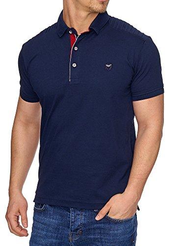 TAZZIO Herren Polo-Shirt Polohemd Poloshirt T-1004