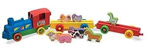 Tiempo de la diversión 55921Empujar Junto Tren de Granja con Animales de Play