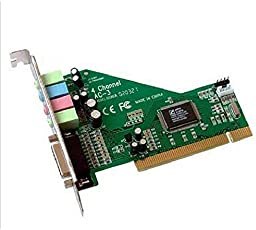 AST Works Sound Card PCI Card Output Mixer for PC Windows XP/7/8/10 64-Bit PCI Bus Master