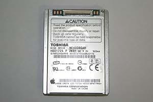 """OEM Mk6008GAH Toshiba Disque dur de remplacement pour Apple iPod vidéo 5ème génération 1,8"""" 60Go"""