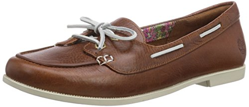 Timberland Cornish FTW_EK Cornish Long Vamp Slip On - Lined, Damen Geschlossene Ballerinas, Braun (MEDIUM BROWN), 38 EU