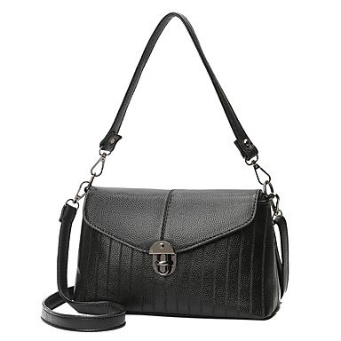 Womens Fashion Classic Crossbody Bag,rosso Black