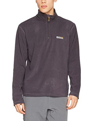 Outdoor-half Zip Pullover (Regatta Thompson Men's Half Zip Overhead-mit Anti-Pilling Fleece grau Iron Large)