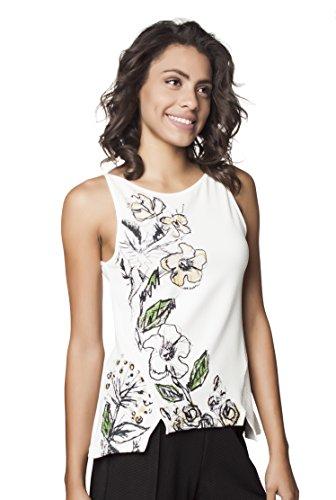 Mamatayoe Latona, Camiseta sin Mangas para Mujer, Blanco, L