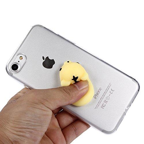 iPhone 7 Hülle, Voguecase Silikon Schutzhülle / Case / Cover / Hülle / TPU Gel Skin für Apple iPhone 7 4.7(Pinch Puppen - Kaninchen) + Gratis Universal Eingabestift Pinch Puppen - Tiger
