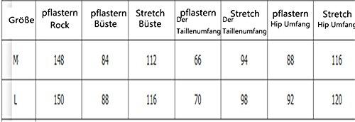 JOTHIN Damen Rundausschnitt Spitzen Festkleid ärmellose Lang Ballkleid Etuikleider Perspective Schwarz
