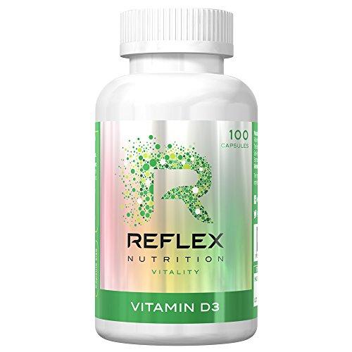 Reflex Nutrition Vitamin D3 (100) Standard, 50 grams - Iu 50 Kapseln