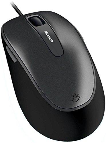 Microsoft Comfort Maus 4500 schwarz (Verpackung für Unternehmen) - 6000 Microsoft Maus