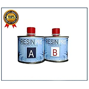 Resin Pro Epoxidharz Ultra Transparent GR 320, zwei Komponenten, Wasser-Effekt, für Herstellung von Schmuck aus Kunstharz