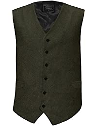 Lloyd Attree & Smith Herringbone Tweed Waistcoat