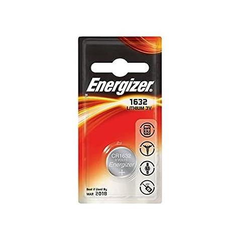 2 x Energizer CR1632 3V Lithium