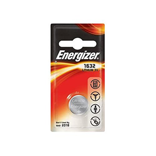 Energizer 04096-3Volt Lithium Button Cell Watch Battery (ecr1632bp (CR1632)) by energizer-eveready (Englis