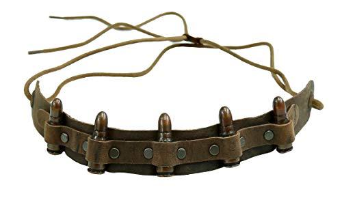 Kakadu Traders Leder Hutband Bullet -
