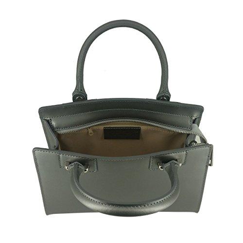 Laura Moretti  Lbei8n3715, Damen Tote-Tasche One Size Silber