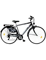 LINEA GIANNI BUGNO Bicicleta Steel Trekking Gris / Negro