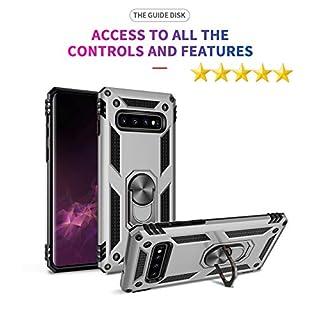 AL AZIZ Handyhülle Kompatibel mit Samsung Galaxy S10 Plus Schutzhülle S10+ Covermobile Galaxy S10+Plus (Silber)