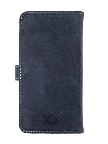 Xqisit Slim Wallet Schutzhülle für Apple iPhone 6 Plus / 6s Plus Blau (blue)