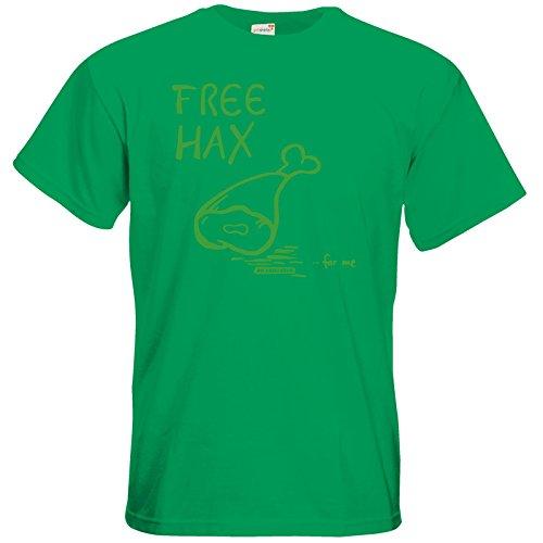 getshirts - Die Grillshow - The Shop - T-Shirt - Free Hax gruen Kelly Green