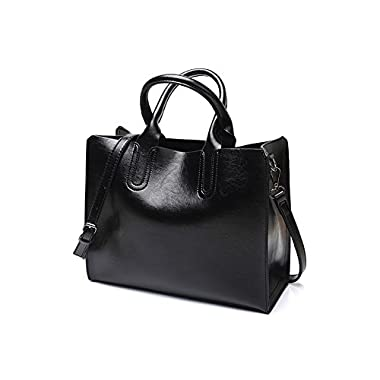 VECHOO Fashion Ladies Handbags, Girls Satchel, Elegant Top-Handle Bag, Vintage Shoulder Bag