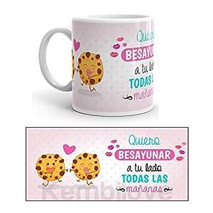 Kembilove Taza de Desayuno Quiero