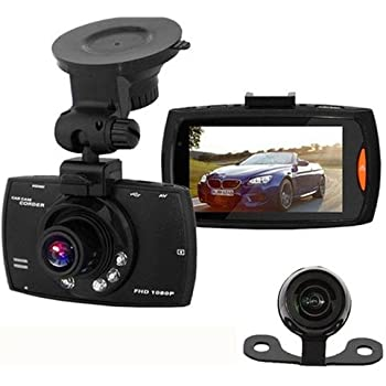 podofo dashcam 1080p full hd dual kamera f r. Black Bedroom Furniture Sets. Home Design Ideas