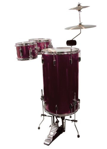 GP Percussion GP75WR Cocktail Drum Set Weinrot -