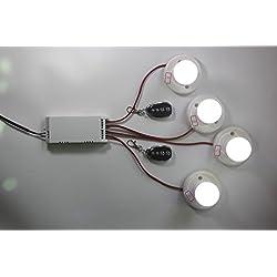metal de mando a distancia ancho Voltaje AC 85 V ~ 250 V 110 V 220 V 230 V 250 V 4 canales rf mando a distancia inalámbrico Interruptor de relé Receptor