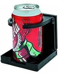 Seachoice 50-79461 Soporte Bebidas Ajustable y Plegable, Color Negro