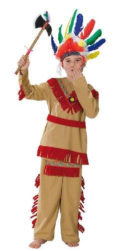 (Rubie's 1 2390 128 - Indianer Kostüm, Größe 128, 2-teilig)