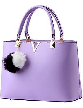 Menschwear Damen Handtasche Marken Handtaschen Elegant Taschen Shopper Reissverschluss Frauen Handtaschen 32cm