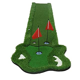 Zfggd Home Golf Putting Mat - Improve Your Putting Stroke In Your Own Home!