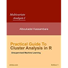 Practical Guide to Cluster Analysis in R: Unsupervised Machine Learning (Multivariate Analysis Book 1) (English Edition)