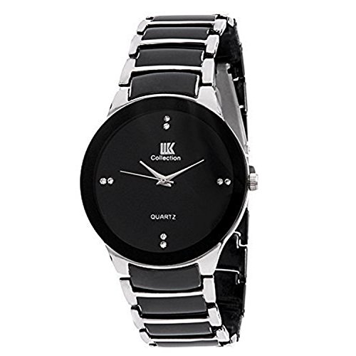 Iik Collection Analog Black Dial Men's Watch-Iik021