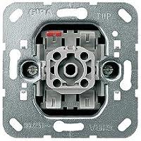 GIRA 010600 Metálico interruptor eléctrico - Accesorio cuchillo eléctrico (10 A, Metálico)