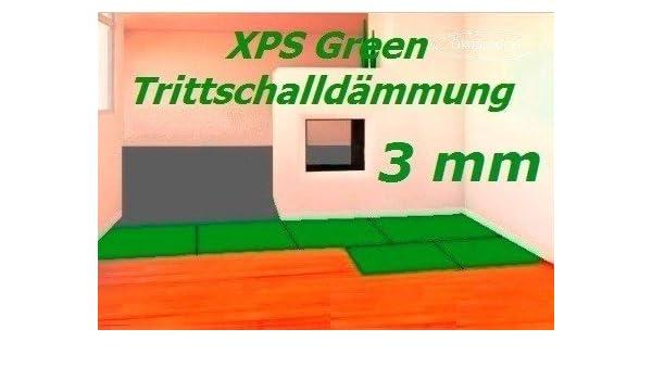 3 mm XPS GREEN hohe W/ärmed/ämmung Hexim 20 qm Trittschalld/ämmung