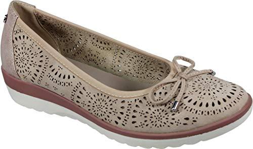 XTI 48957 - Zapato Mujer Sin Cierre Francesita Bailarina