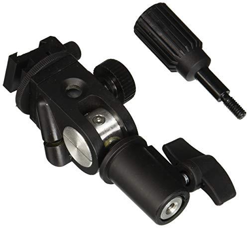 Fotodiox Ultra Heavy Duty Flash Umbrella Bracket with Swivel/Tilt Head, Mountable to Light Stand and Tripod-Fits Vivitar Flash Swivel Flash Bracket