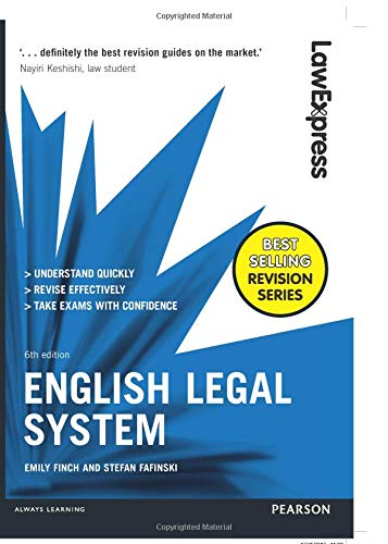 Law Express: English Legal System por Emily Finch