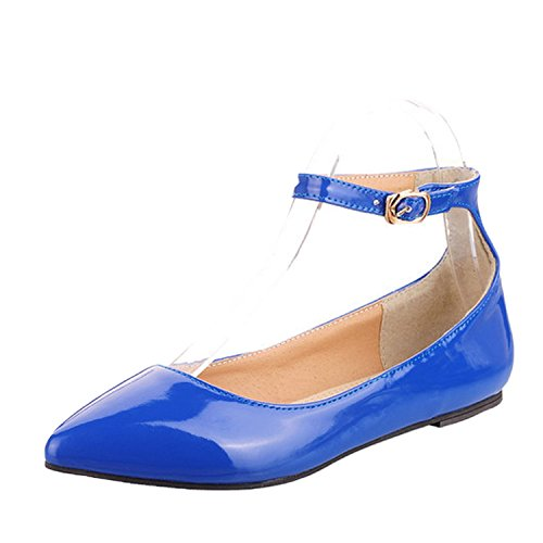 nonbrand Femme Talon UPS en dentelle Bleu