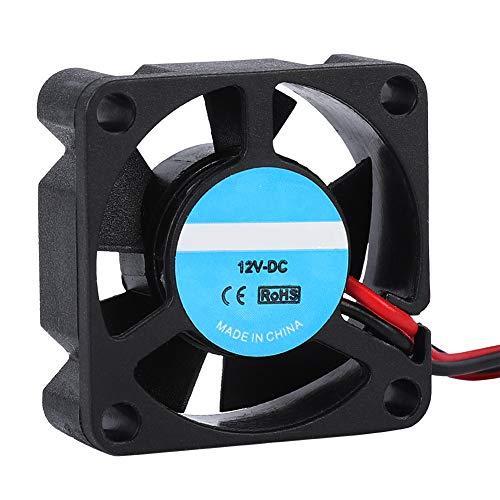 Eboxer 2pcs Radiadores del Ventilador de Refrigeración 30 x 30 x 10mm DC 12V para la Impresora 3D
