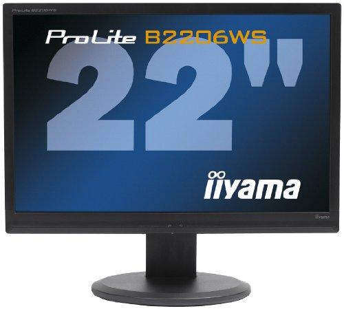 iiyama ProLite B2206WS 22 inch Widescreen LCD Monitor - Black