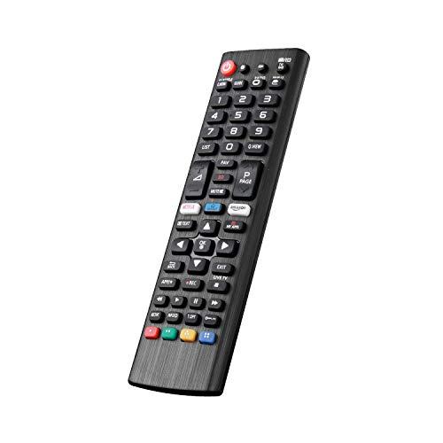 Nuovo telecomando sostitutivo lg tv sostitutivo akb75095308 adatto per vari tv lg ultra hd con pulsanti netflix amazon - nessuna configurazione richiesta tv telecomando universale
