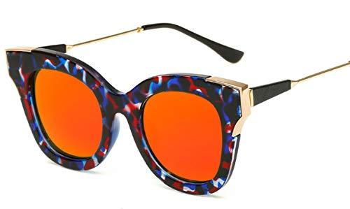 Wikibird Sonnenbrille Schutz Metallrahmen Sonnenbrillen klassisches Design Fahrradbrille Ideal für Städtetouren John Lennon Glasses