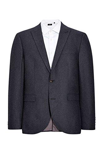 next Homme Coupe Slim Veste De Costume En Laine Donegal Bleu Marine