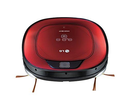 LG Hombot Square VR64702LVMB - Robot aspirador, casas con alfombras