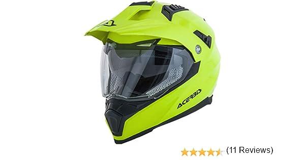Acerbis Casque Flip FS-606/Noir S Full Face Helmet int/égrale //Helmet Flip FS-606/Black S