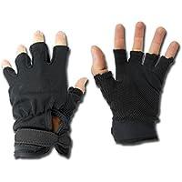 Royal Half-Finger Gloves Black