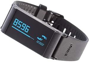 Withings Pulse Ox - Tracker d'activité, sommeil, rythme cardiaque + SPO2 - Noir
